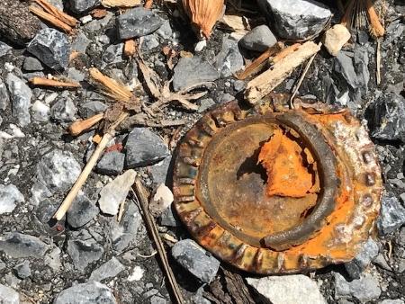 Ground with crush rust_2716